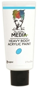 Dina Wakley Media Heavy Body Acrylic Paint - Sky