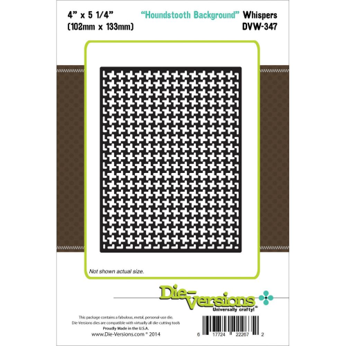 Stanzschablone Houndstooth Background