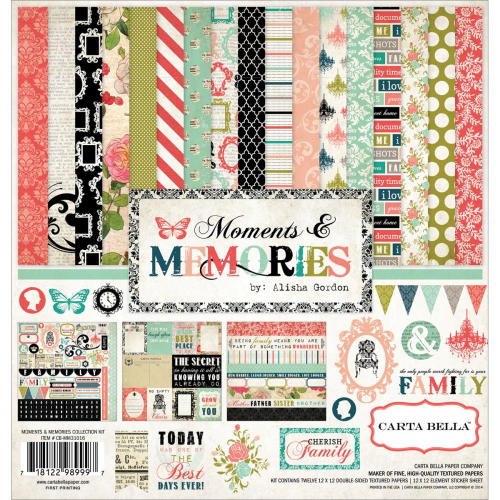 "Moments & Memories Collection Kit 12""x12"""