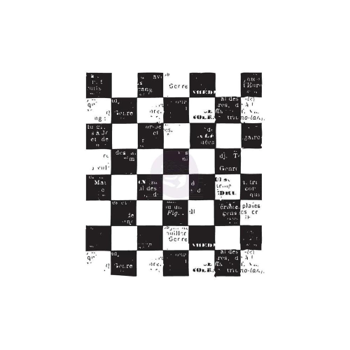 Clear - Checkered