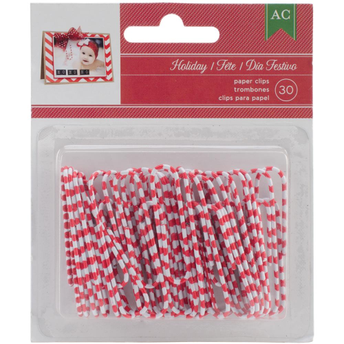 Christmas Decorative Paper Clips