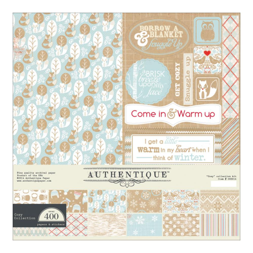 "Cozy Collection Kit 12""x12"""