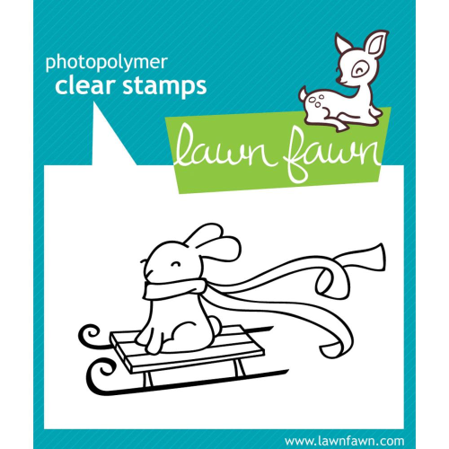 Clear Stamp - Winter Bunny