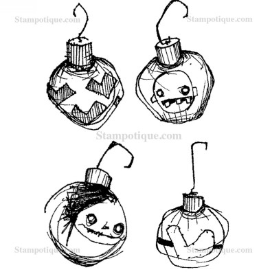 Christmas Ornaments Cube