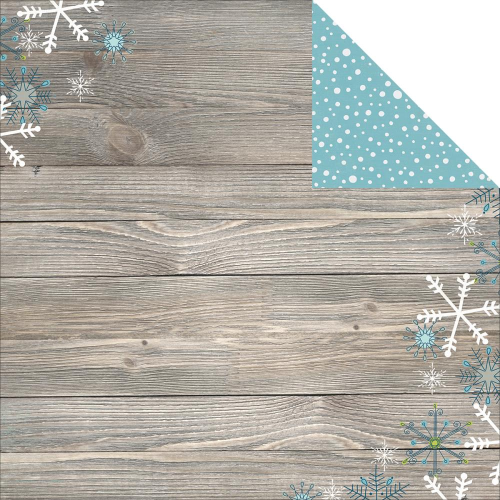 Papier Simple Sets Snow - Flurries