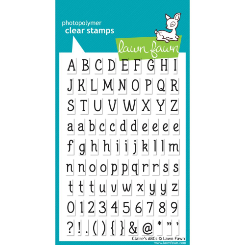 Clear Stamp - Claire's ABC