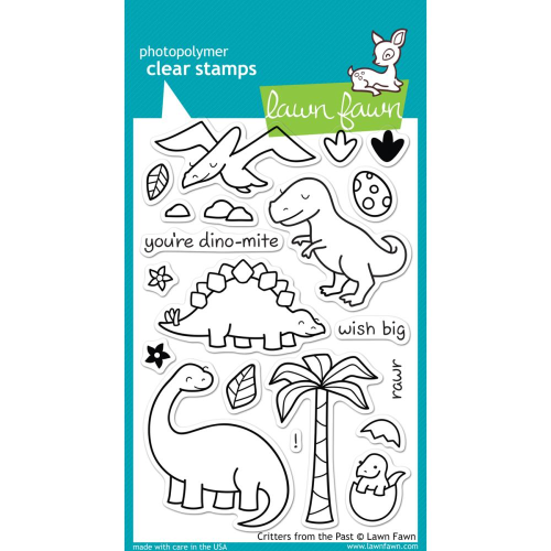 Clear Stamp - Critters from the Past