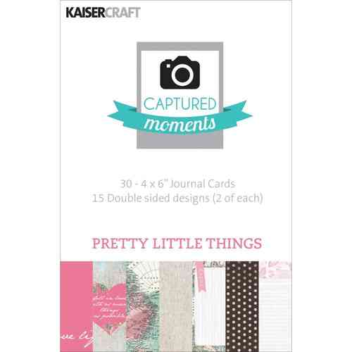 "Pretty Little Things Double-Sided Cards 4""X6"""