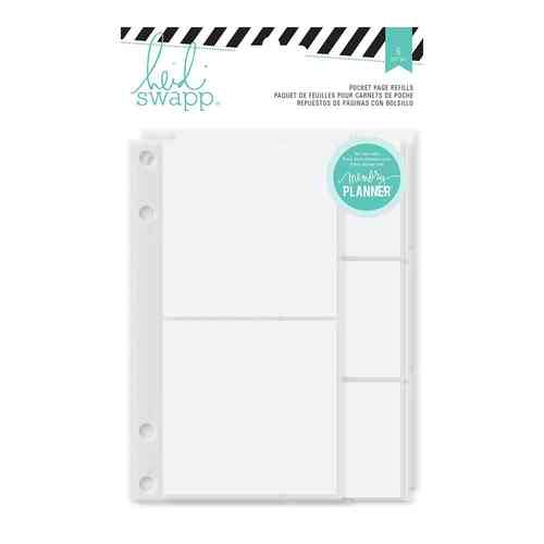 Heidi Swapp Hello Beautiful Memory Binder Pocket Page Refills
