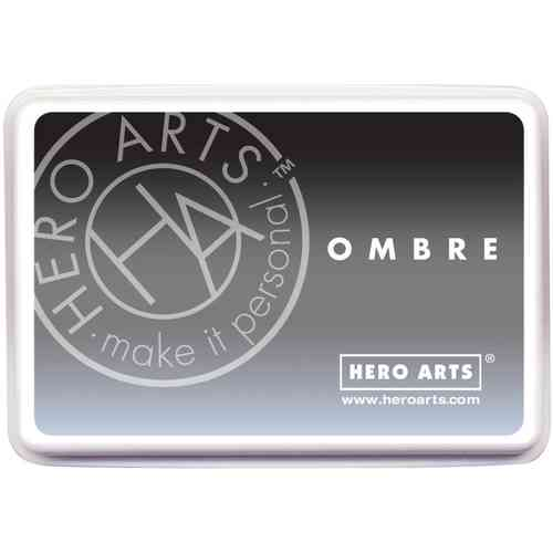 Hero Arts Ombre Ink Pad - Gray to Black
