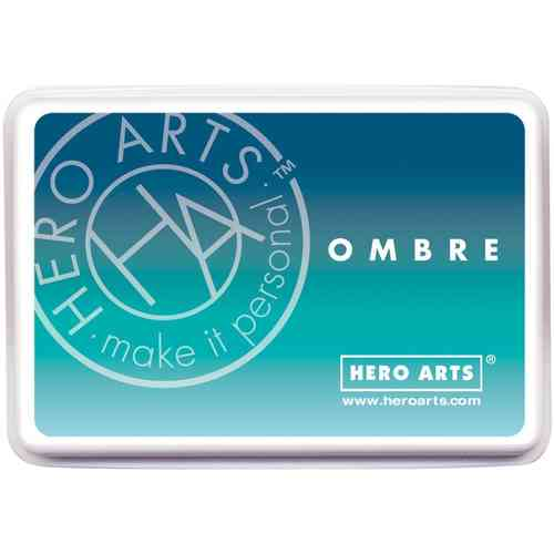 Hero Arts Ombre Ink Pad - Pool to Navy