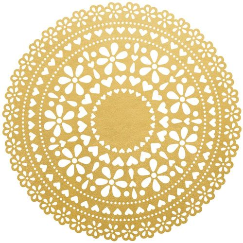 Touch of Gold - Foil Doily