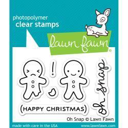 Clear Stamp - Oh Snap