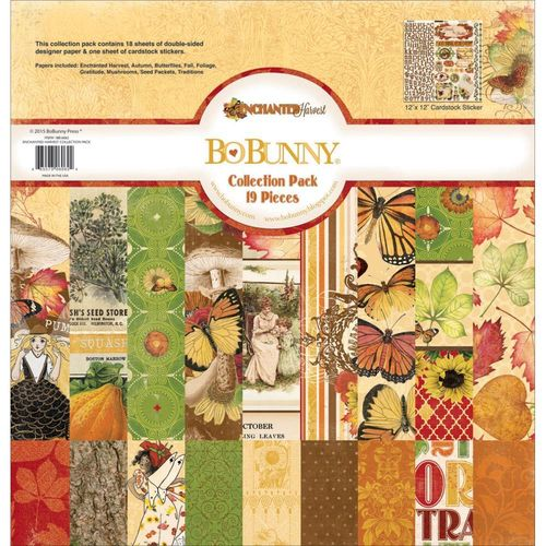 Enchanted Harvest Collection Pack 12x12