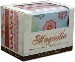 My Mind's Eye Boxed Cards - Magnolia