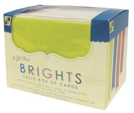 Box of Cards - Solid Brights