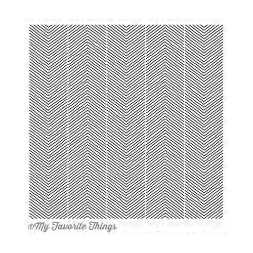 Cling Sketched Chevron Background