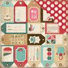 Papier Home Sweet Home - Baking Tags