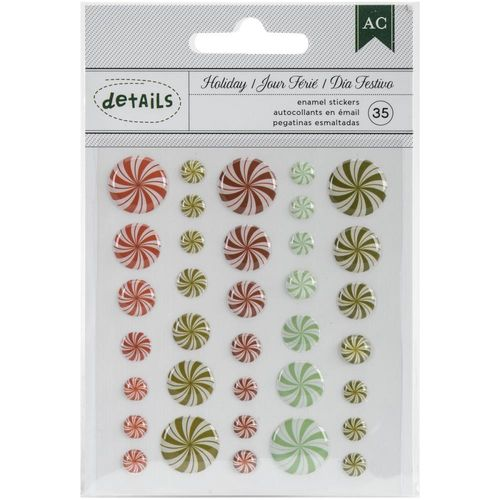 Holiday Details Enamel Dots - Candy