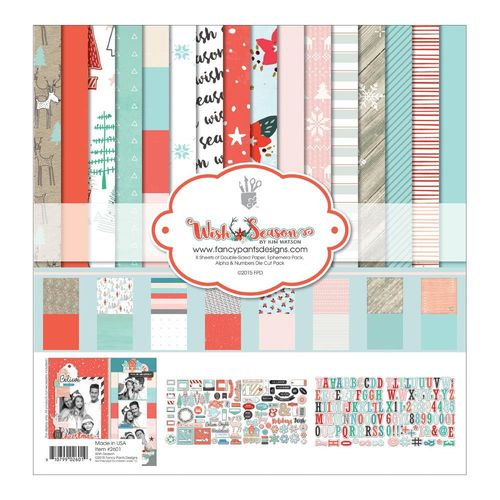 "Wish Season Collection Kit 12""X12"""