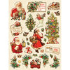 Yuletide Holiday Clearly Yours Stickers