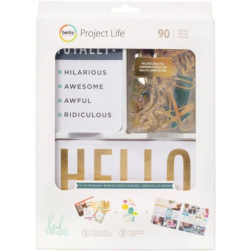 Project Life Value Kit - Heidi Swapp Naturals