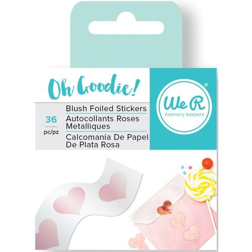 Oh Goodie! Foil Stickers - Blush Heart