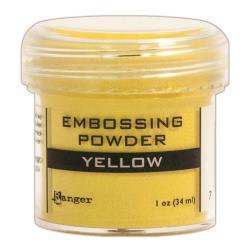 Embossingpulver Yellow