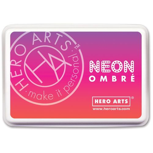 Hero Arts Ombre Ink Pad - Neon Red to Purple