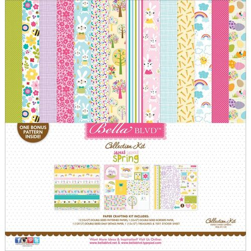 "Sweet Sweet Spring Collection Kit 12""x12"""