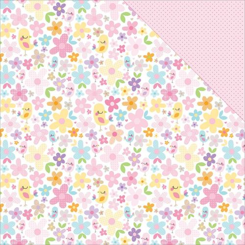 Papier Sweet Baby Girl - Pretty As A Posie