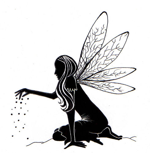 Fairy Dust Silhouette