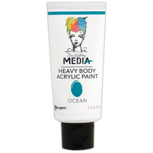 Dina Wakley Media Heavy Body Acrylic Paint - Ocean