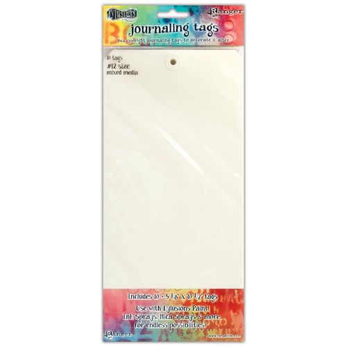 Dylusions Journal Tags - Media Paper #12
