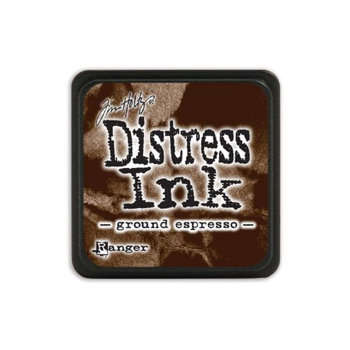 Distress Mini Stempelkissen - Ground Espresso
