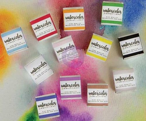Prima Watercolor Confections Watercolor Pans - The Classics