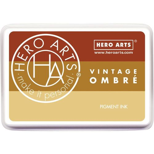 Hero Arts Ombre Ink Pad - Vintage Metallic Rust
