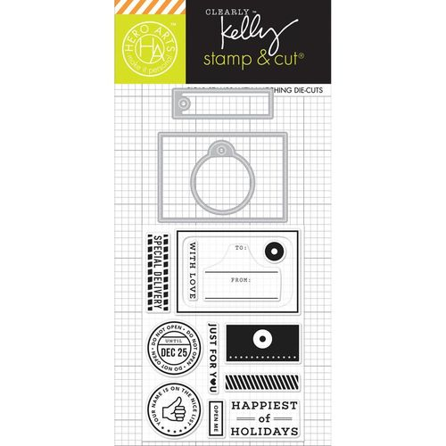 Kelly's Open Me Stamp & Cut