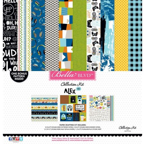 "Alex Collection Kit 12""x12"""
