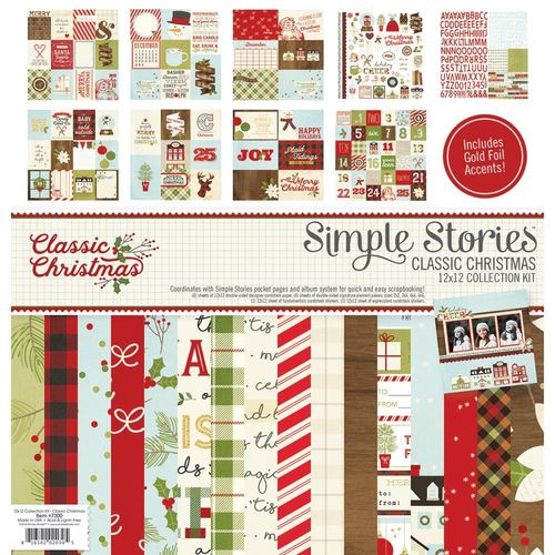 "Classic Christmas Collection Kit 12"" x 12"""