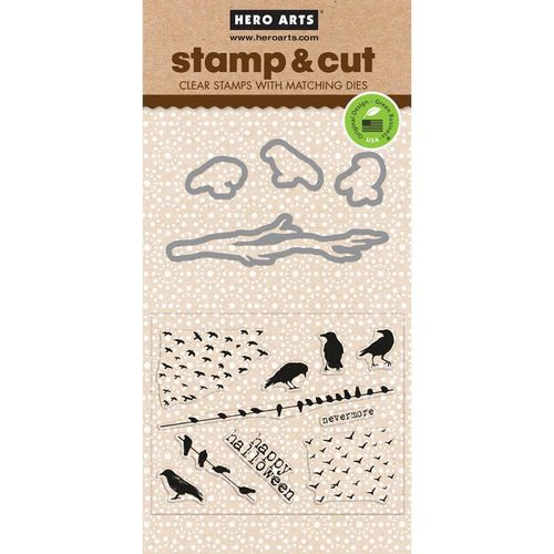 The Birds Stamp & Cut