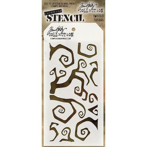 Tim Holtz Layered Stencil - Twisted