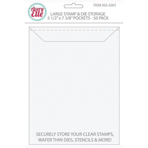Avery Elle Stamp & Die Storage Pockets - Large