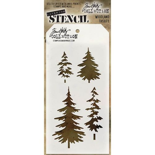 Tim Holtz Layered Stencil - Woodland