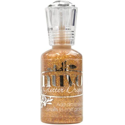 Nuvo Crystal Drops - Glitter Golden Sunset