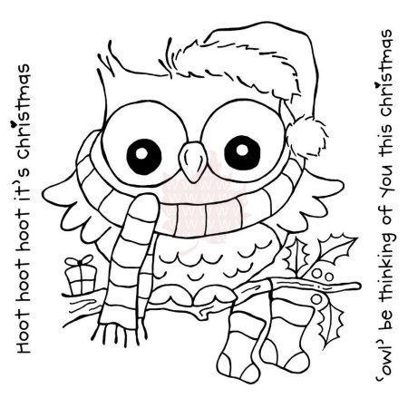 Clear - Christmas Hoot