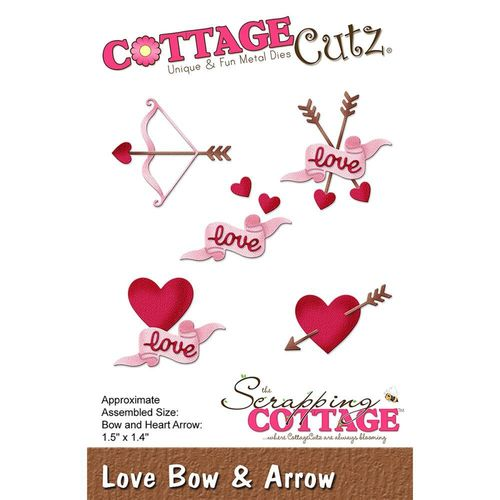 Stanzschablone Love Bow & Arrow
