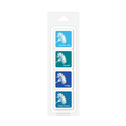 Tropical Waters Bold Ink Cube Pack