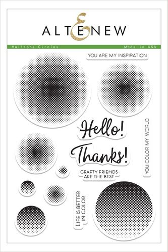 Clear - Halftone Circles