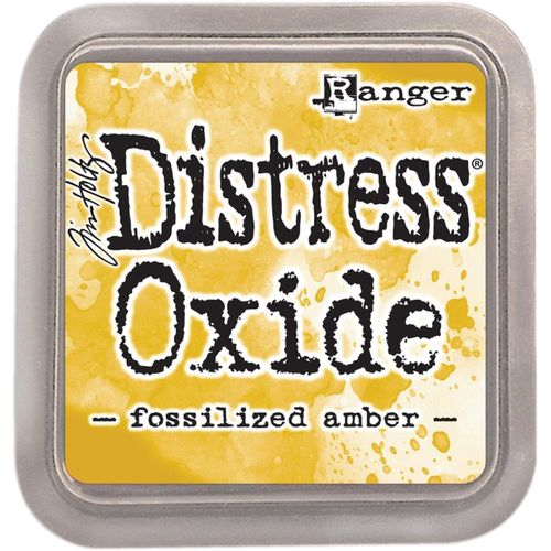 Tim Holtz Distress Oxide Pad - Fossilized Amber
